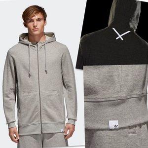 adidas Jackets & Coats - ADIDAS ORIGINALS OBYO REFLECTIVE JACKET HOODIE L